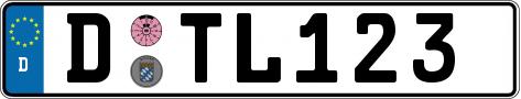 Kennzeichen-D
